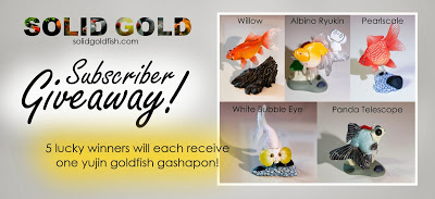 Yujin Goldfish Gashapon Unboxing + GIVEAWAY!
