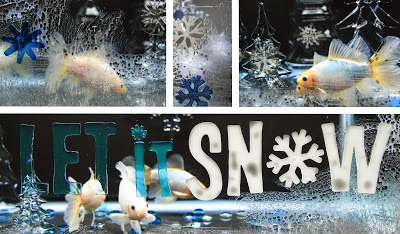 Winter Wonderland Aquarium | in the making